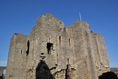 Middleham Castle, used by Richard III to engage in military activity and as a means of expressing his power in the north.